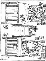 Hospital Coloring Ziekenhuis Pages Fun Kleurplaten Lego Kleurplaat Ziek Zo Het Van Bed sketch template