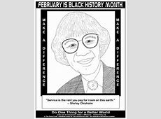Do One Thing February is Black History Month