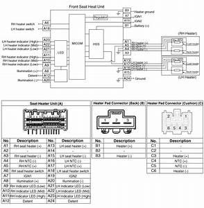 Kia Niro   Seat Heater Schematic Diagrams   Seat Electrical