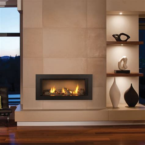 Gas Wall Fireplace by Zero Clearance Gas Fireplace Search Modern