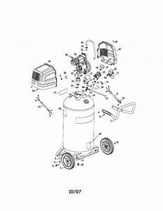 Craftsman 919167620 Air Compressor Parts