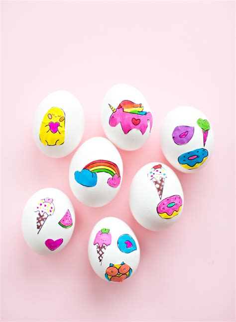 easy easter egg decorating  craft ideas