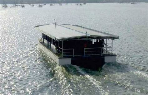 Boat Service From Vaikom by Solar Powered Boat Service To Commence From January 12 In