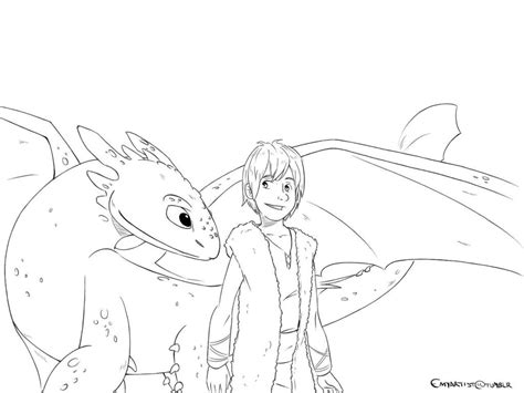 Hiccup And Toothless By Tokio92 On Deviantart