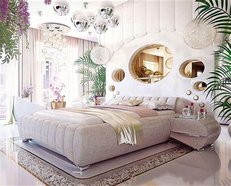 luxury bedroom interior design     woman