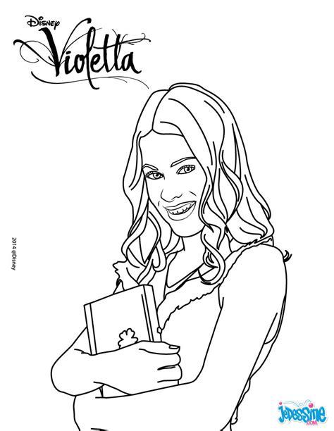 16 Dessins De Coloriage Disney Channel Violetta à Imprimer