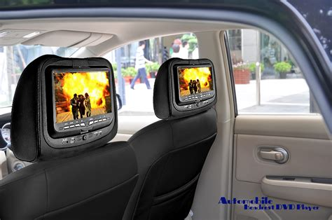 9 Headrest Car Dvd Player With Gaming System And Fm