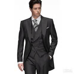 wedding tuxedos for groom black groom tuxedos groomsmen 2015 morning style wedding suits prom formal bridegroom