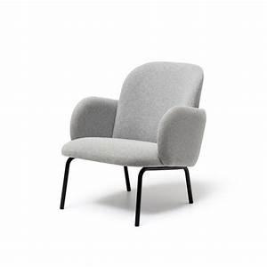 Fauteuil Gris Clair : fauteuil confort gris clair arne concept ~ Teatrodelosmanantiales.com Idées de Décoration