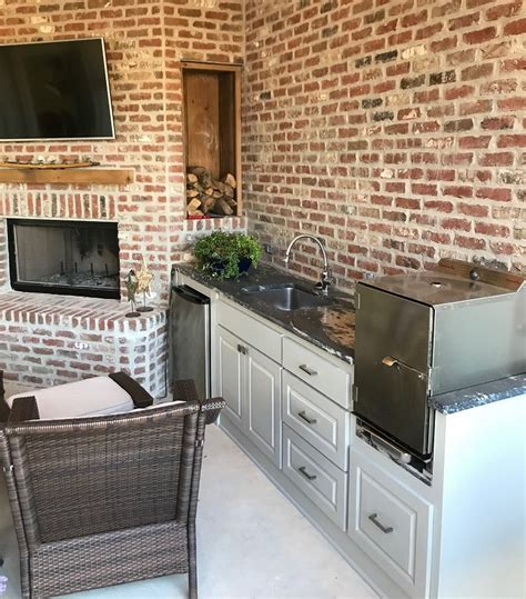 outdoor kitchen designs with smoker smokintex bbq electric smokers outdoor kitchens 7238