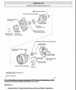 2008 Scion Xb Parts Diagram