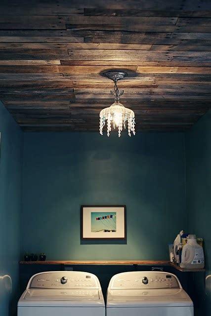 wood pallet ceiling 26 breathtaking diy vintage decor