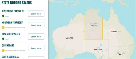 borders australia map open tasmania tells restricted closed which aussie exactly sorry