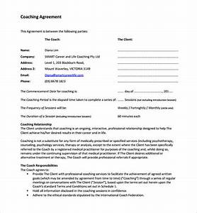 Coaching contract template 12 download free documents for Business coaching contract template