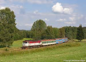 Railography : Czech Rep : August 2009