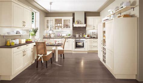 Einbauküche Norina 7365 Magnolia  Landhaus Küche