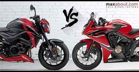 Suzuki Vs Honda by Detailed Comparison Suzuki Gsx S750 Vs Honda Cbr650f