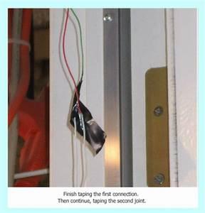 Installing Magnetic Door Switches