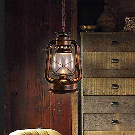 vintage kitchen light vintage retro bronze lantern ceiling pendant l led 3220