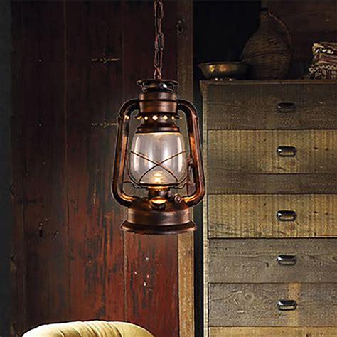 vintage kitchen pendant lights vintage retro bronze lantern ceiling pendant l led 6829
