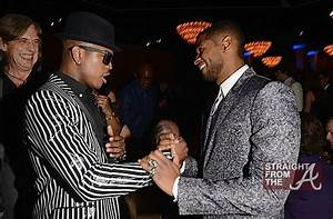 Neyo and Usher – 55th Annual Grammy Pre Celebration 1 ...