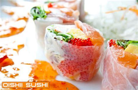 cours de cuisine sushi oishii sushi jusqu à 54 de rabais sur tuango ca