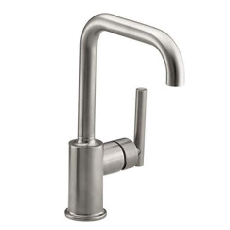 kohler k 7509 vs purist single hole kitchen sink faucet