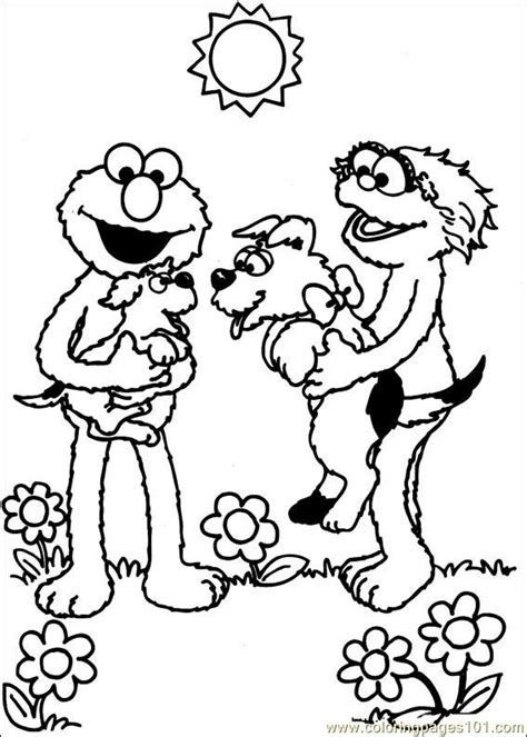 Sesame Street 37 Coloring Page For Kids Free Sesame