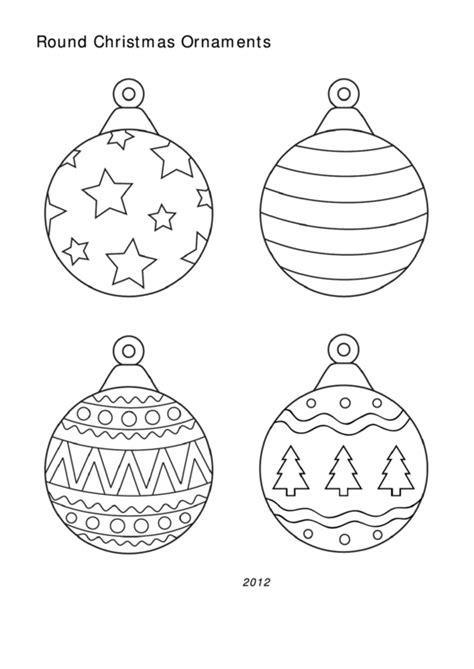 christmas ornament templates printable