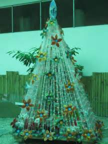 panabo city s christmas tree made from recycled items green design blog