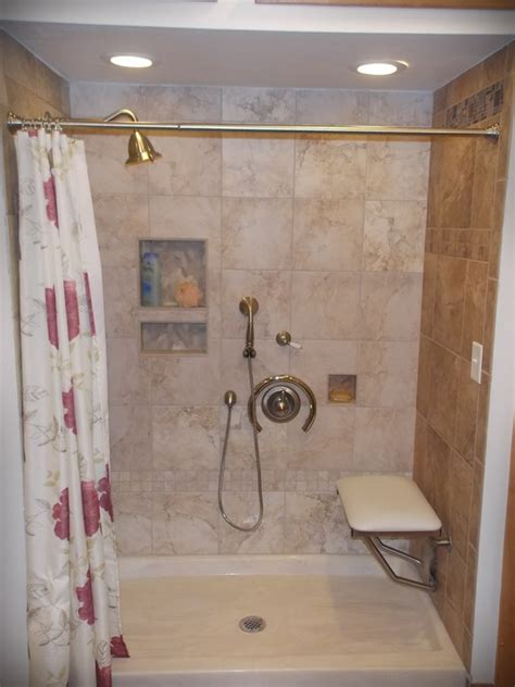 seated shower sonnenburg builders  manitowoc wisconsin