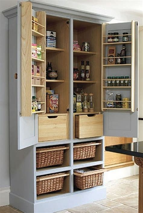Kitchen Closet by Pantry Cabinet Ideas The Owner Builder Network