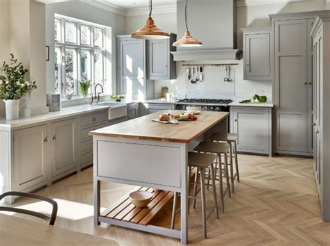 lights in kitchen are the handles and tap copper 3788