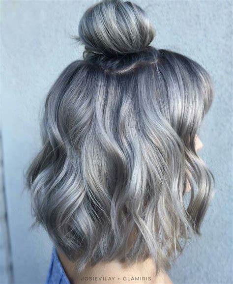 25 Best Ideas About Blue Grey Hair On Pinterest Silver
