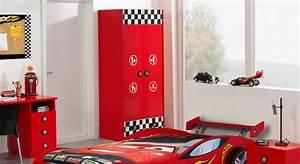 Kleiderschrank Mit Viel Stauraum : 2 t riger kinderkleiderschrank in rot mit schublade tuning ~ Whattoseeinmadrid.com Haus und Dekorationen