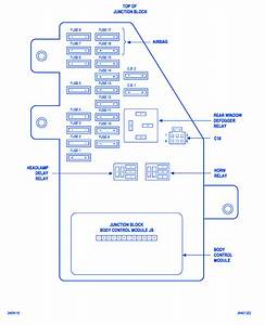 Dodge Stratus 2005 Fuse Box  Block Circuit Breaker Diagram