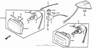 Headlight Unit For 1985 Honda Xr350