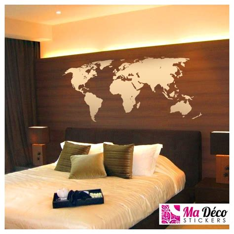 world map cheap stickers world discount wall stickers