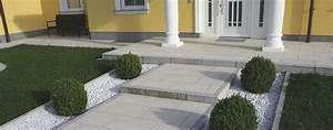 Begrenzungssteine Granit Blockstufen Randsteine Rambck