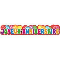 banderole mariage anniversaire enfant divers banderole joyeux anniversaire