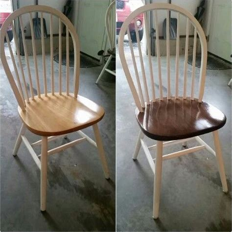 refinished kitchen chairs  part   butcher block top