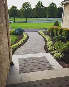 Front, Entrance, Brick, Paver, Walkway