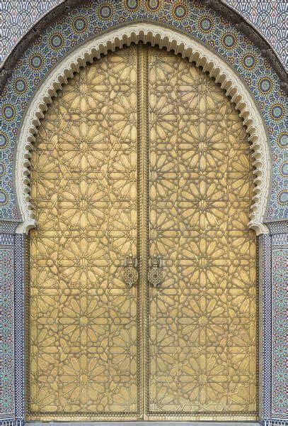 textures door texture doors moorish ornate yellow ornament morocco