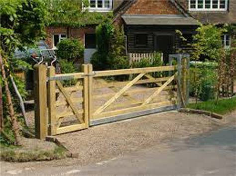 Morticed Timber Field Gates In The Scottish Borders