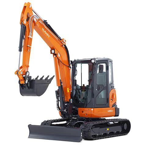excavator kubota u55 4 kubota