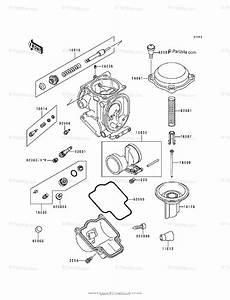 Kawasaki Motorcycle 1996 Oem Parts Diagram For Carburetor