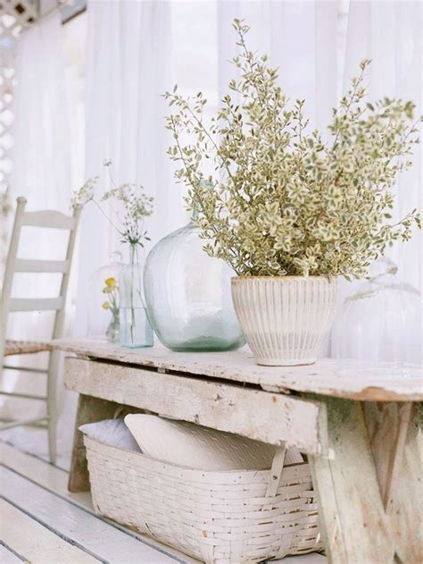 shabby chic style decor 38 adorable white washed furniture pieces for shabby chic and beach d 233 cor digsdigs