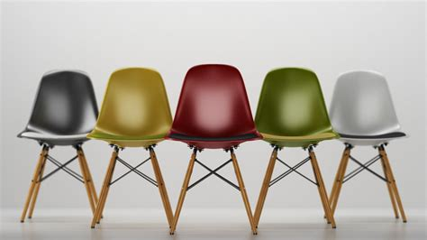 Chaise Vitra Eames Dsw by Vitra Eames Plastic Side Chair Dsw 3d Model C4d Cgtrader Com