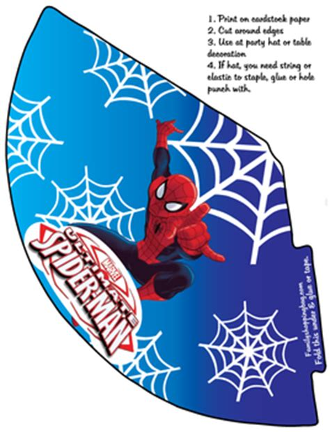 spider man party hat spiderman party hats