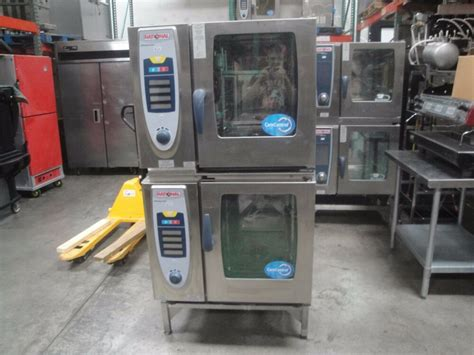 Rational Scc 61 Rational Selfcooking Center Scc 61 Electric Stack Combi Ovens 3 Phase Ebay